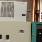 Air conditioner on switchboard